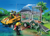 playmobil amphibian vehicle deinonychus includes trailer