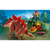 playmobil stegosaurus mother stegosaurus' babies hatched