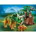 playmobil explorer triceratops help researcher capture