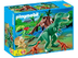 playmobil t-rex velociraptors hiding place underneath