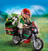 playmobil explorer motorcycle take wild adventure