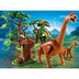 playmobil brachiosaurus long neck collects trees