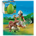 playmobil scientist dinosaur giant green reveal