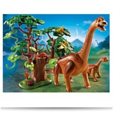 Playmobil Brachiosaurus With Baby