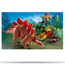 Playmobil Stegosaurus With Baby