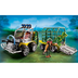 playmobil transport vehicle t-rex return dinosaur