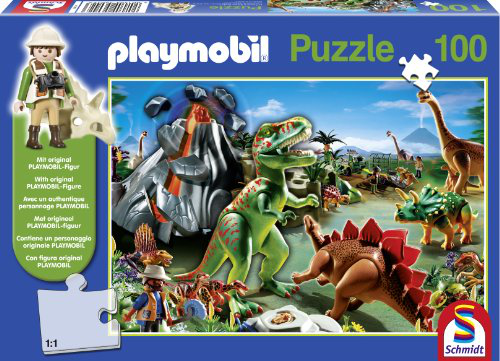 In Dino Country Playmobil Jigsaw Puzzle